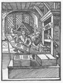 Imágen de imprenta antigua