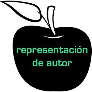 link a página de representación de autor