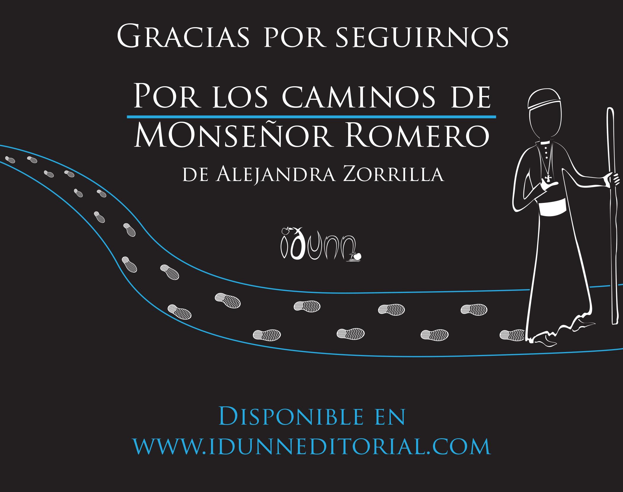 Imagen publicitaria Por los caminos de Monseñor Romero