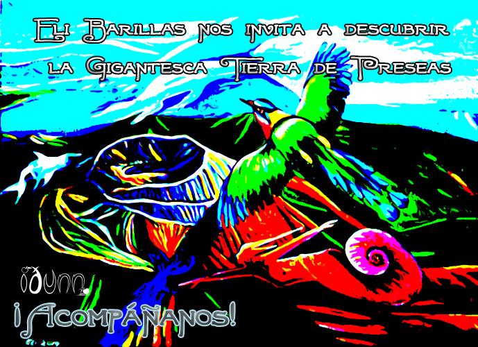 Eli Barillas nos invita a descubrir la Gigantesca Tierra de Preseas ¡Acompáñanos!