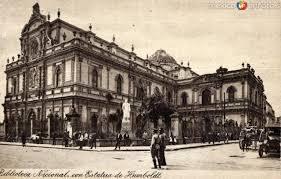 Biblioteca nacional de México 1