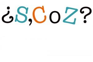 uso de la c, la s y la z
