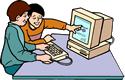 personas usando computadora