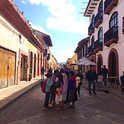 Gente en San Cristobal