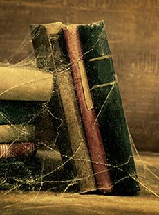 Como cuidar tus libros - libros polvosos