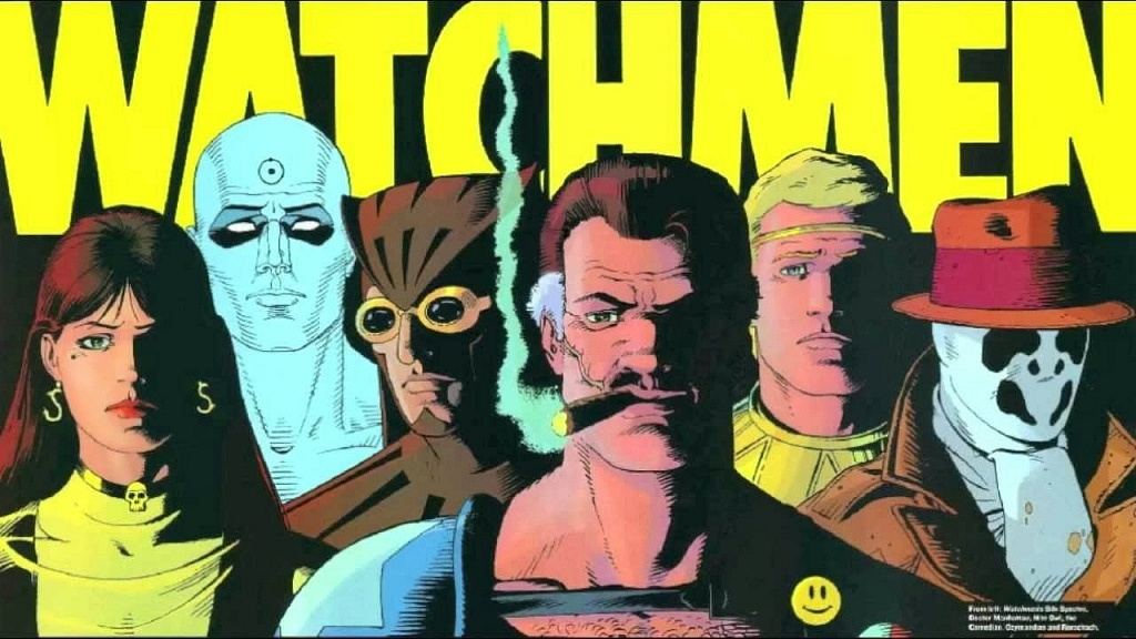 Novela gráfica - watchmen