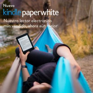 Kindle Paperwhite en tu hamaca